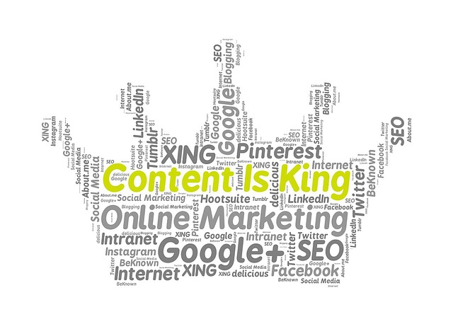 Content is King as are Keywords in 2018