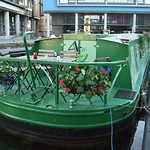 brand re-design for canal boat accommodation