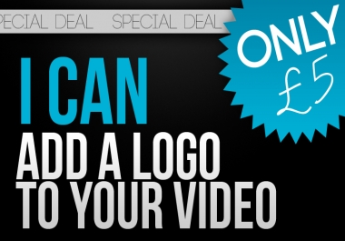 Add any Logo to any Video