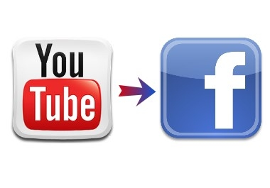 add your You Tube channel as a tab to your Facebook page
