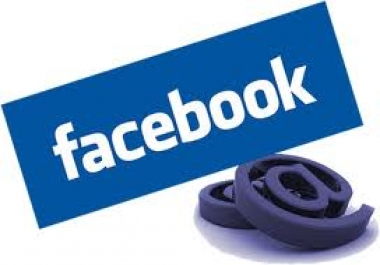 give you an email list of 1.5 million real Facebook users mostly USA