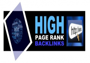 I will Backlink Manually from Page rank 9 Sites Creating 6 Backlinks Angela Style for your Url To
