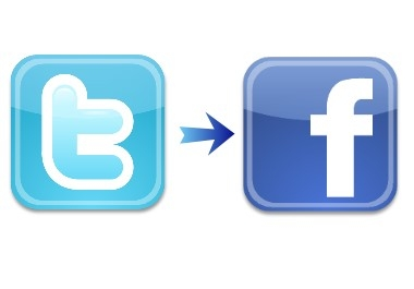 create a twitter tab on your facebook business page