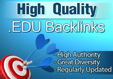 I will create 20 edu profile backlinks for your site and ping them all + bonus 5 gov backlink