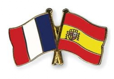 translate up to 800 words of spanish or French into English or vice versa