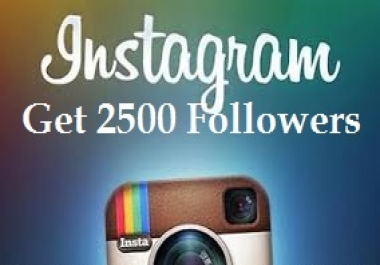 Get You 50000 INSTAGRAM Followers In 24 Hrs
