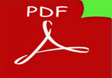 I will do any changes to your pdf file