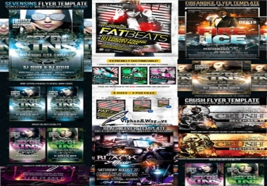 I will design a Flyer, Business Card, Cover, Poster, Banner or anything related to Graphic Design