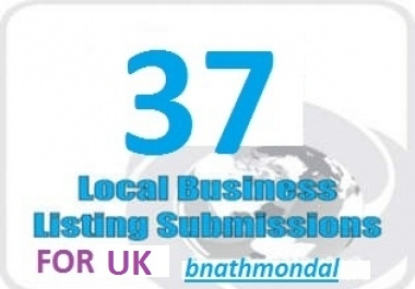 boost your Google Places By Submtting Your Business Details On Top 37 Citation Sites In UK To Give You More Targetted Customers