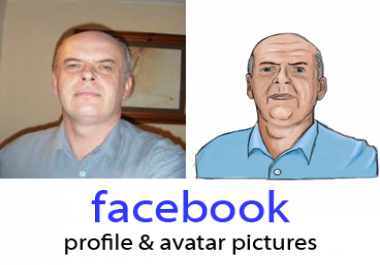 draw your avatar or Facebook profile picture