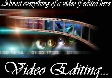 I will do your video editing with best quality