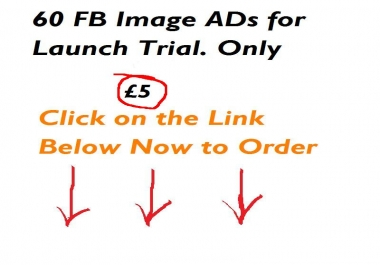 give you 60+ [High Quality] Variations in 24 HRS or LEss for your facebook AD to explode your Campeigns and reduce Banner AD Blindness
