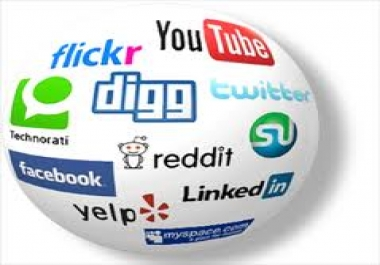 I will deliver manually Real 10 Facebook share,10 Google Plus1 votes,20 Pinterest share,20 Tweet ..
