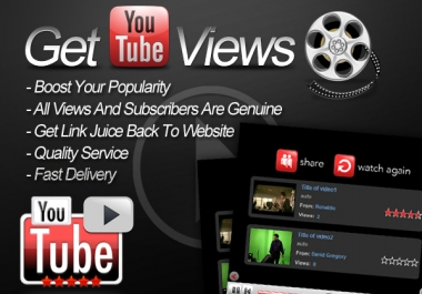 I will provide you with 3000 Unique Youtube video views, likes,subscribers or comments or favorit