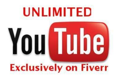 I will tell you the secret for how to get unlimited youtube video views, likes, comments, subscri