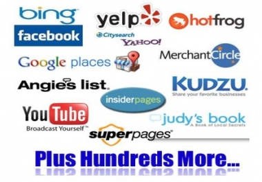 I will  submit your business details on the TOP 61 UK CITATION SITES to boost your google places