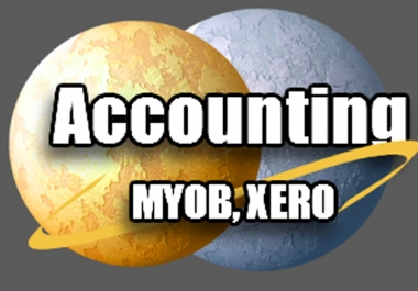 I will reconcile your bank statements using Xero or MYOB