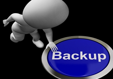 I will create a backup copy of your website and send it to you