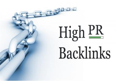 get you 5 backlinks from website pr7 and above