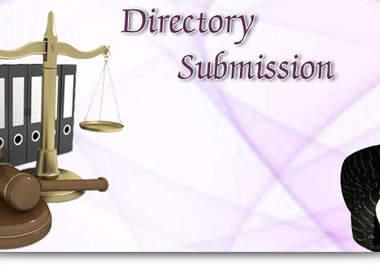 I will do 100 Quality Directory Submission in top sites