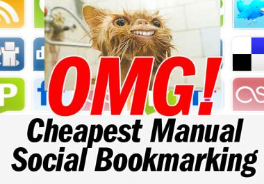I will do 75 Quality Social Bookmarking Submissions