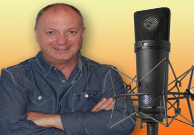 record a professional voiceover for any non-broadcast project