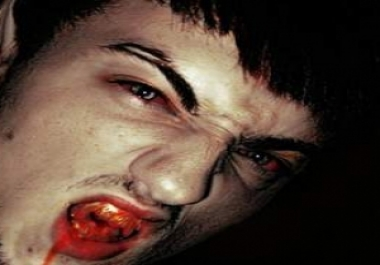 I will turn your face to vampire face in photoshop