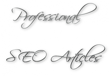 write you an SEO enriched article for your site/blog/newsletter