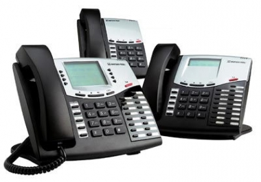 I will record you a professional phone system, radio, tv message