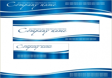 I will give you a 6 designed corporate identity