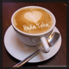 I will write your message or  website name on cappuccino