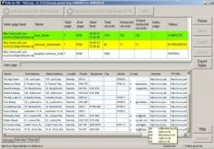 I will extract business data for you from yellow pages uk, es, us, au, ca