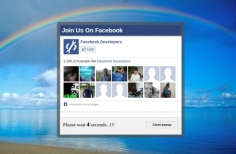 I will implement facebook like popup box on your site