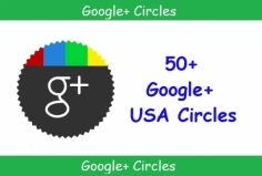 I will add 50 Genuine USA circles on your Google Plus profile in 24 hours