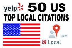 I will Listing  your Local business 50 Top USA citation site to boost your Google places