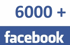 I will give you 6000+ Real facebook page likes with in 24 hours