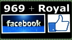 I will add 969+Royal Facebook Likes FASTER