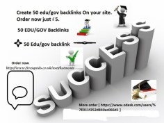 I will Create 50 edu/gov profile backlinks