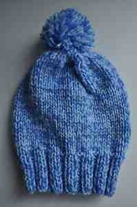 I will knit your child's beanie hat