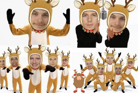 make funny Deer Dance ANIMATION starring you