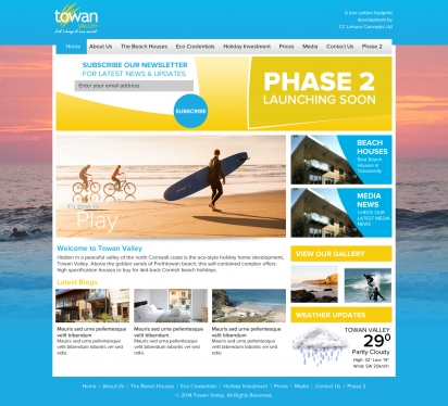 Create Great Looking Landing Page Design + HTML