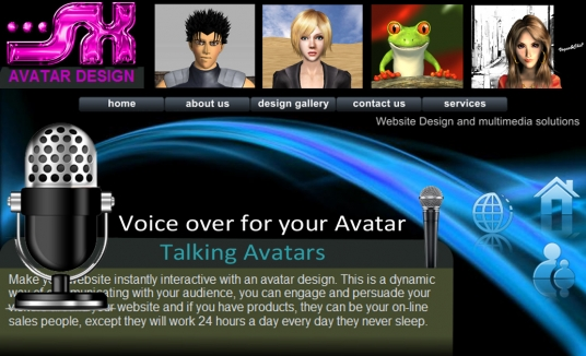 do a talking Avatar with an audio voice over