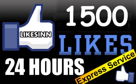 give you 1050 to 1070 Real looking [PERMANENT] facebook likes or fans to your fanpages  24 hours