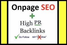 I will Rank Your Url with Onpage SEO and Manual Backlinking