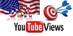 I will Add Real and active 1000+ USA YouTube views
