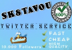 I will deliver 2500 twitter followers