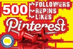 I will provide 500 Real Pinterest Permanent Followers or Repins or Likes