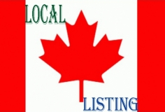 I will do Top Canadian Local Business Listing