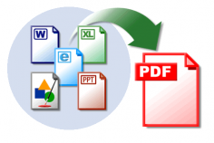 I will convert a word, text, excel, powerpoint or image file into a pdf document