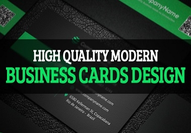 design Professional double sides business card